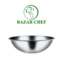 Bowl Profundo Acero Inoxidable 28 Cm - Bazar Chef