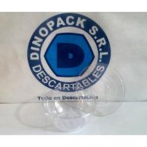 Ensaladera Bowl De Plástico Descartable De 480cc X 100 Un