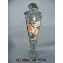 Copa Inperio Alta Con Tapa De Vidrio - Candy Bar