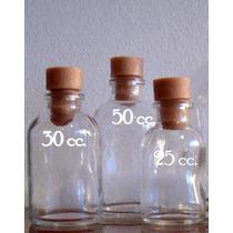 Envase Vial 25,30 Y 50 Cc.vidrio-ideal Souvenirs, Difusores.