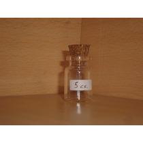 Botellitas Mini Vidrio 5cc Con Corcho Souvenirs 10 Unidades
