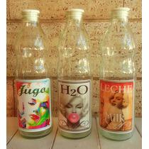 Botellas Vintage Vinilo + Tapon Antivuelco ¡en Rosario!