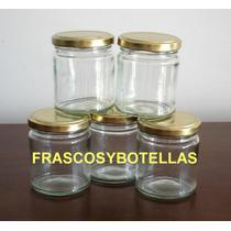 Frascos-envases Vidrio 200 Cc C/ Tapa Axial X 15 Unidades