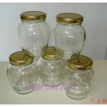 Frascos-envases Vidrio Almendra 360 Cc X 40 Unidades (pack)