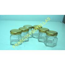 Frascos-envases Vidrio 40 Cc Con Tapa X 30 Unidades !!!!!!!!