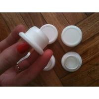 Tapon Para Botella De Tomate Triturado, Plastico X 15