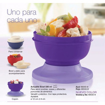 Set Actualite Bowl 330ml X 4 Unidades. Original Tupperware
