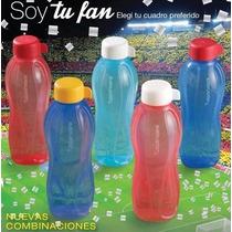 Tupperware Botella Eco Twist X 500 Ml Color Rojo