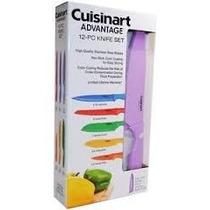 Cuchillos Set De 12 Piezas Cuisinart Con Funda