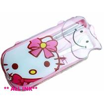 Hello Kitty Set De Cubiertos* Cuchara+tenedor+palitos*