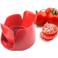 Practico Utensilio Cortador De Tomate Y Mozzarella