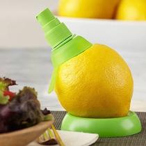 Spray Exprimidor De Cítricos X 2 + Base - Limón - Rociador