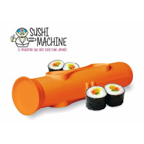 Sushi Maker Machine Facil Roll Nagiri Maki Salmom Alga
