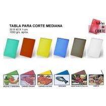 Tabla P/ Picar Tabla De Corte P/ Servir 35x50 Vs Colores