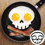Molde Para Freir 2 Huevos Con Forma De Calavera