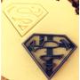 Cortante De Superman Para Galletitas Fondant Cutter Moldes