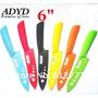 Cuchillo Ceramico Color Con Vaina 6 Pulgadas - Microcentro