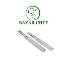 Espatula Larga Linea Acero - Bazar Chef