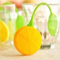 Infusor De Silicona/ Colador De Te En Hebras Limón