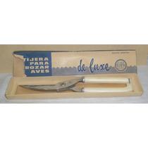 Cuchillo Tijera P/trozar Aves Nueva Marca C.v. De Luxe Oport