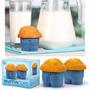 Set X4 Moldes Para Muffins De Siliocona Diseño Jean In Bloom