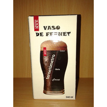 Vaso Fernetómetro De Crystal Rock - 540ml!