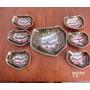 Fuente Y Compoteras De Ceramica