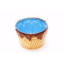Compoteras Cucurucho Bowl Ceramica Set X 4