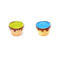 Bowl Cucurucho Ancho Varios Colores Set X 2- Reina Batata