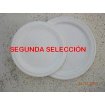 Platos De Cerámica - Muy Buena Vajilla De 2º Selección -