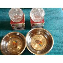 Pack 2 Bowls Acero+2 Compoteras Vidrio+mini Rayador