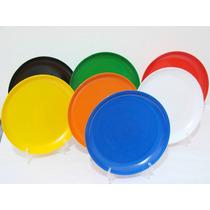Platos Hondos Plasticos 22cm. X 10 Unidades
