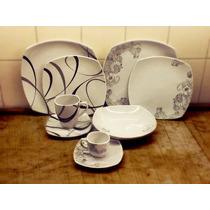 Porcelana Tsuji Platos Cuadrados Línea 2400 Premium