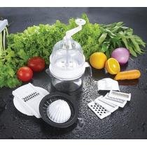 Mandolina Rallador Vegetales 9 Funciones En 1 Multifuncion