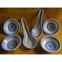 Lote Cuencos Cucharas Porcelana Grano De Arroz- Finger Foods