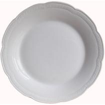 12 Platos Playos 25 Cm Porcelana Tsuji Linea 1800 (docena)