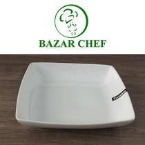 Plato Hondo Cuadrado 19.5 Cm - Bazar Chef