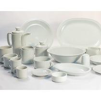Mejor Precio Platos Playos Tsuji Linea Blanca Porcelana Ss