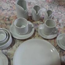 Jarrito K Con Plato Porcelana No Verbano Oferta!! X 13
