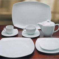 Promo!! 2400 Porcelana Tsuji Playos+postre+hondo Ss X 24