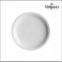Plato Playo Porcelana Verbano . Tu Logo En El Plato A Pedido
