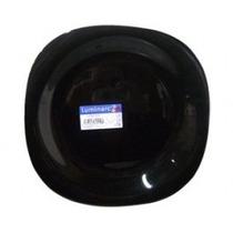 Plato Hondo Negro Luminarc 21 Cm Levysbazar