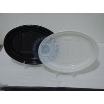 Platos Fast Food Descartables Plasticos 20x26 X 50un.