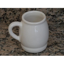 Mate De Ceramica Blanca, Tranquera Calidad Premium.