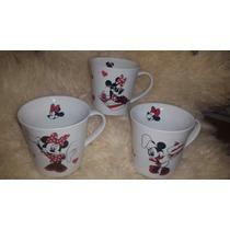 Taza Ceramica Cafe Te Minnie Decoradas