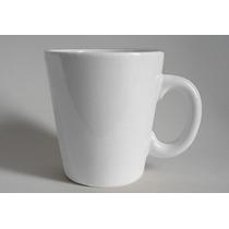 Taza Jarro Mug Conico Ceramica Blancas Lisas P Desayunos