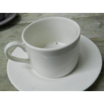 Tazas De Te Blancas De Porcelana,