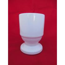 Mate Ceramica Blanca, Tazas Conicas, Rectas, Bombe