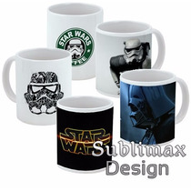 Taza Star Wars Mug Sublimada Diseños Exclusivos / Almagro