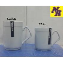 Jarrito Café Americano Grande Porcelana X6